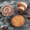 Razítko na sušenky - folk květ