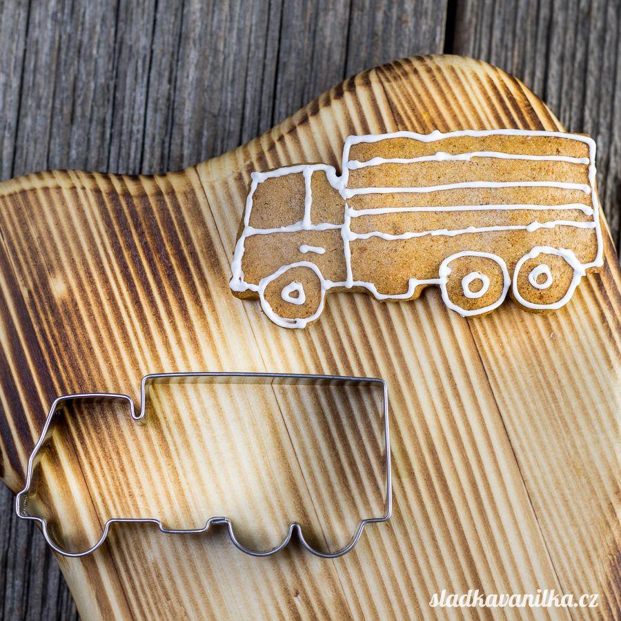 Vykrajovátko nákladní auto