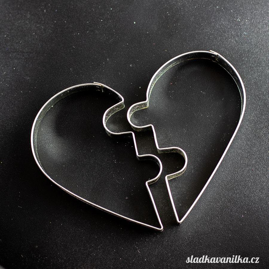 Vykrajovátko valentýnské srdce