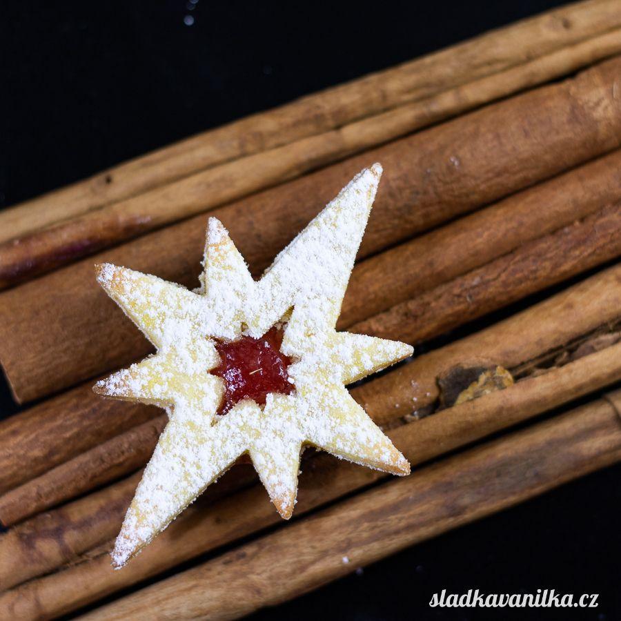 Vykrajovátko osmicípá hvězda s hvězdou