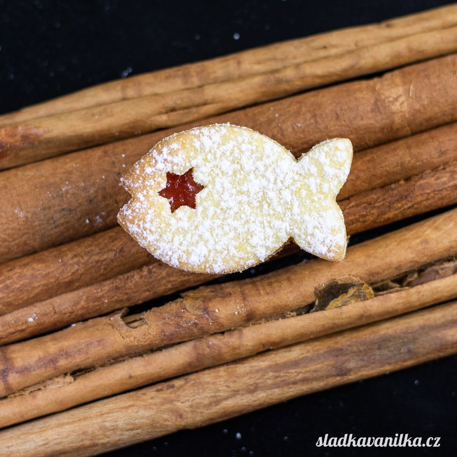 Vykrajovátko rybička s hvězdičkou
