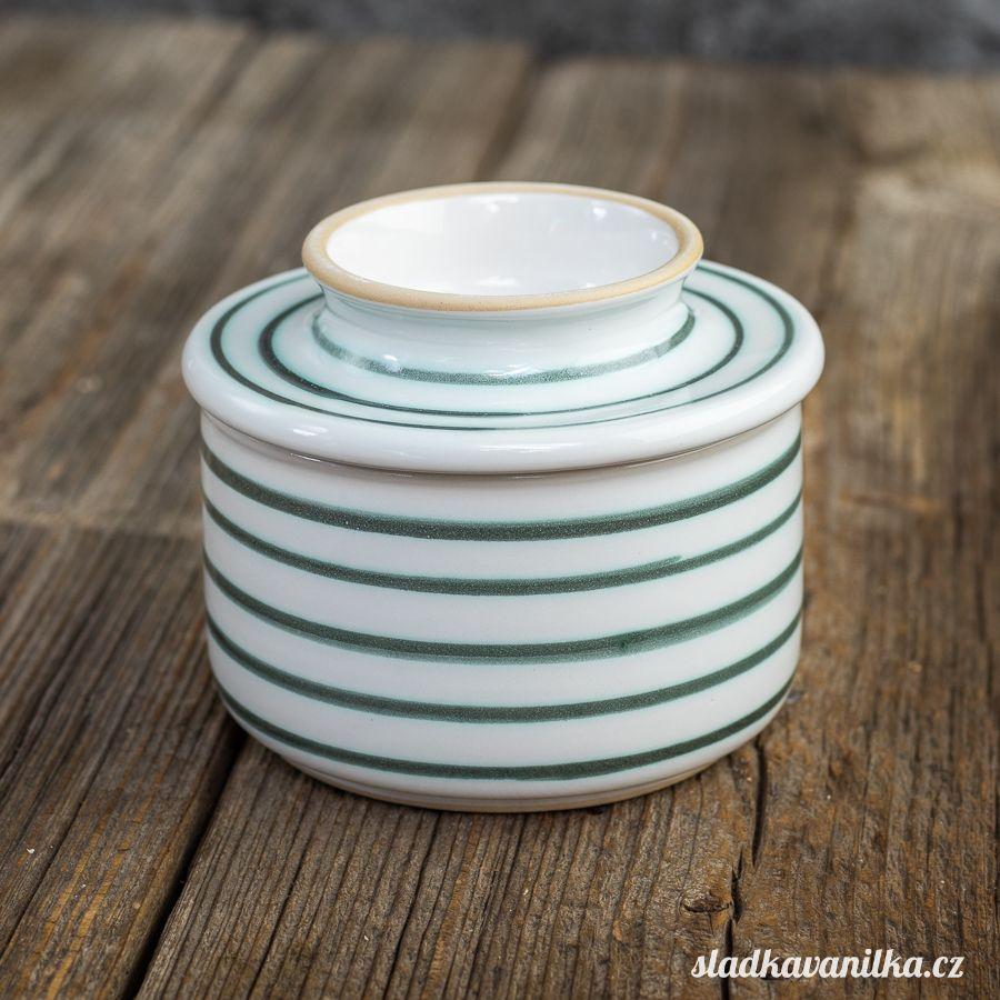 Máslenka s vodním filtrem - zelený proužek