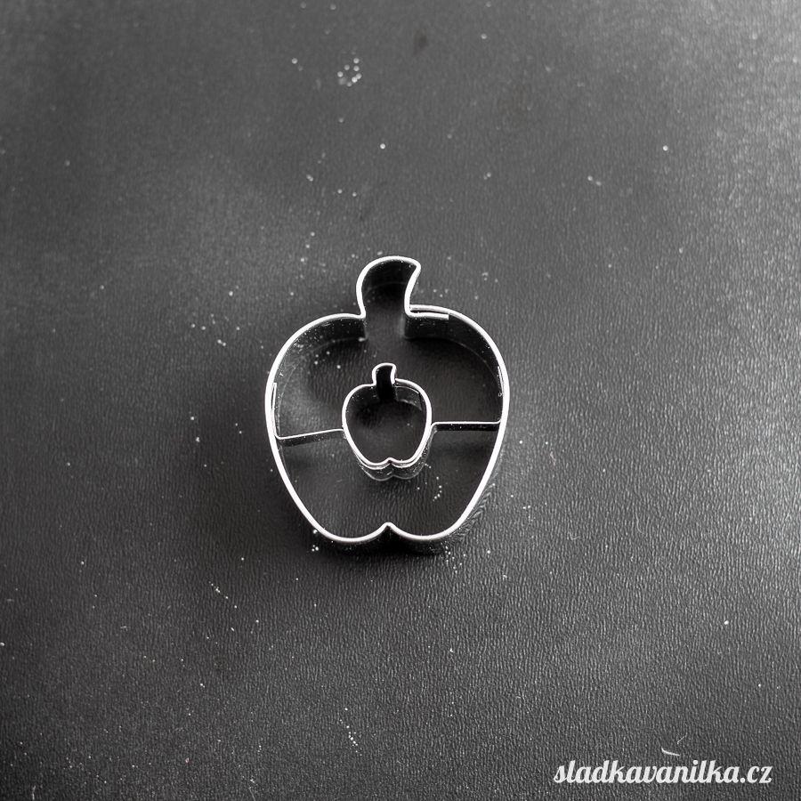 Vykrajovátko jablko s jablíčkem