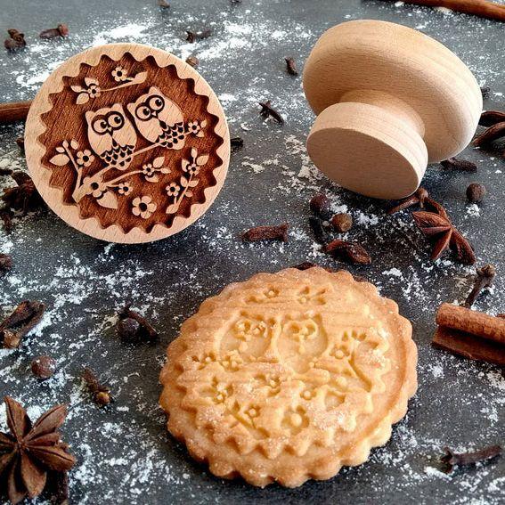 Razítko na sušenky - sovičky