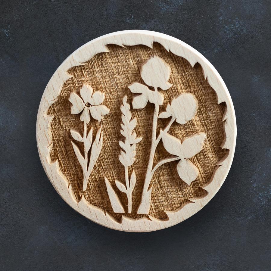 Razítko na sušenky - luční květiny