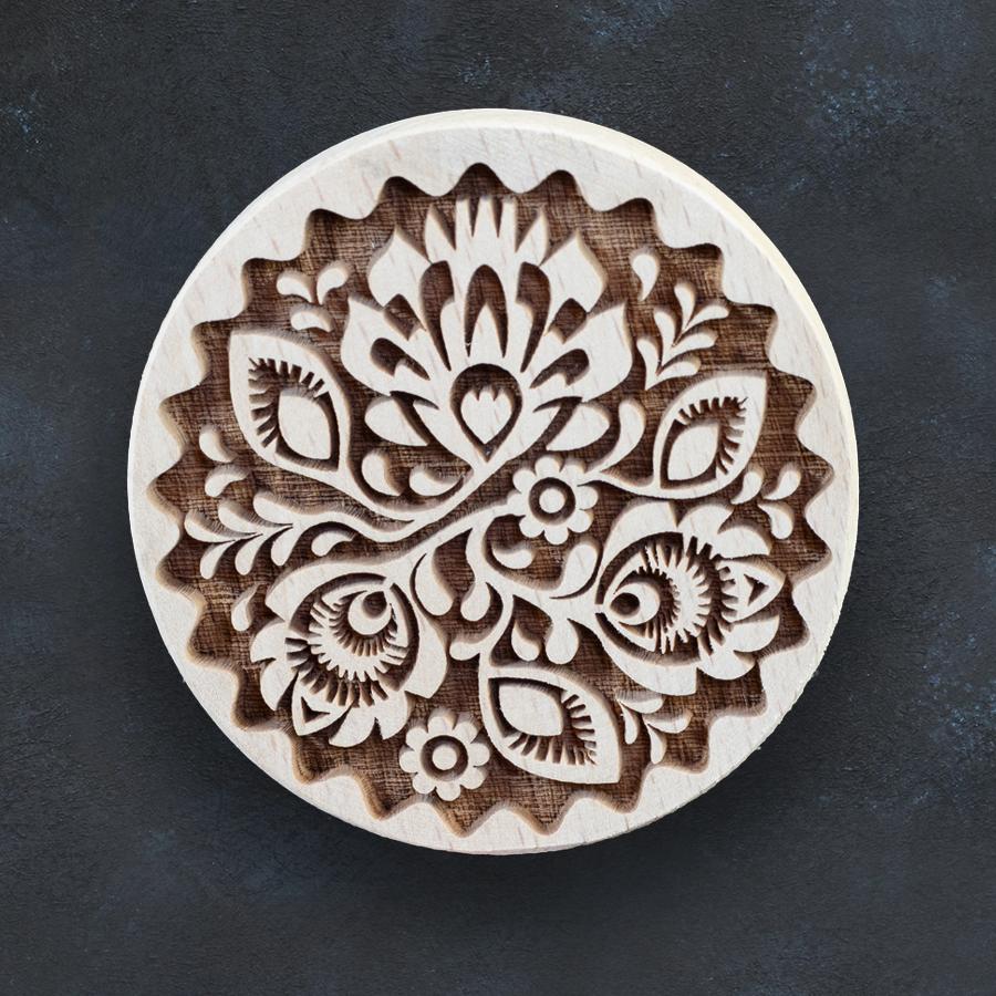 Razítko na sušenky - folklórní