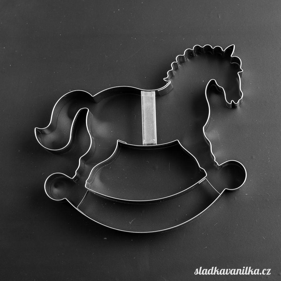 Vykrajovátko houpací kůň velký