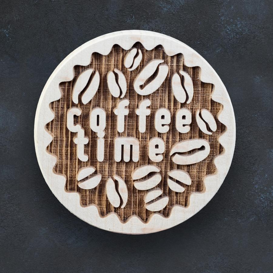 Razítko na sušenky - čas na kávu