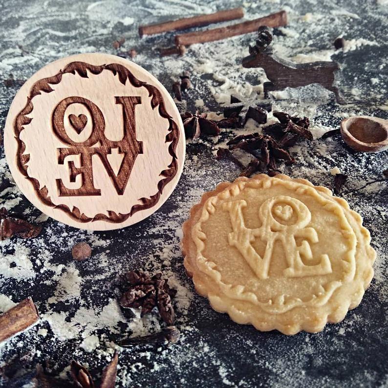 Razítko na sušenky - LOVE