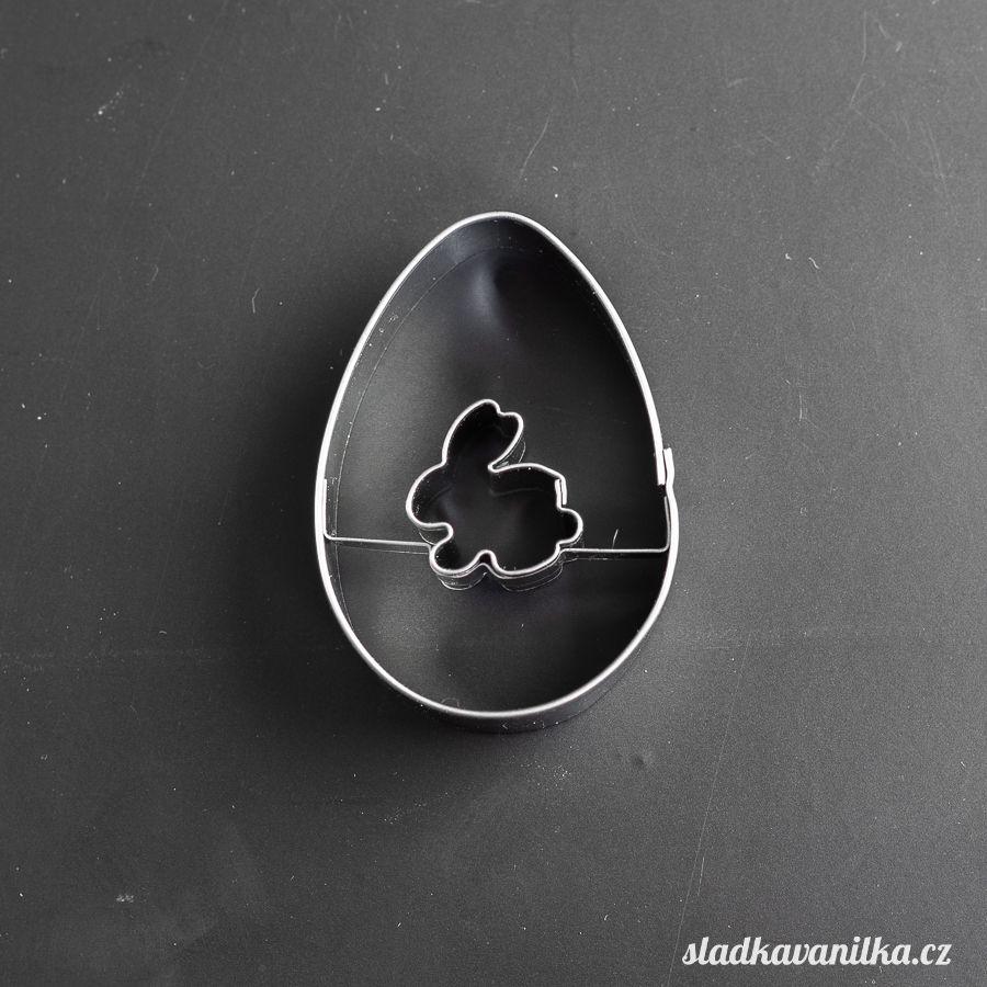 Vykrajovátko velikonoční vejce se zajíčkem