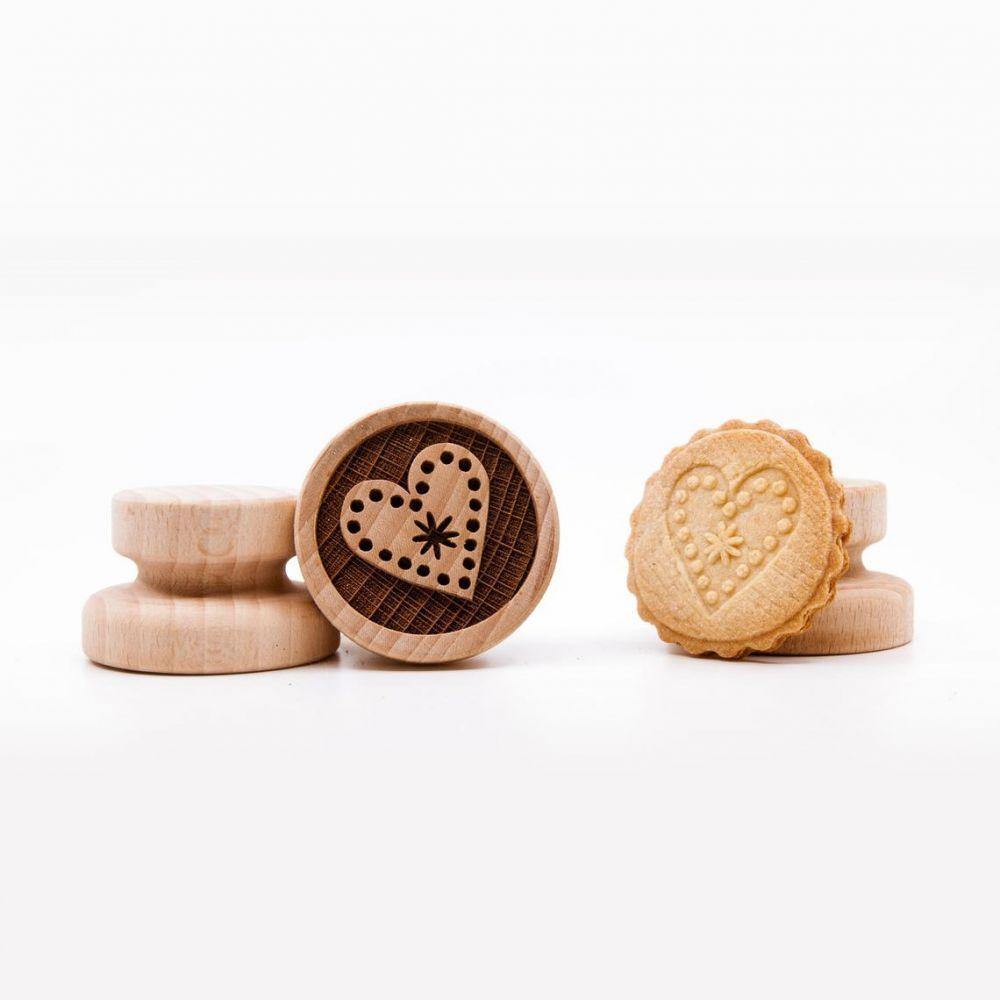 Razítko na sušenky - srdíčko