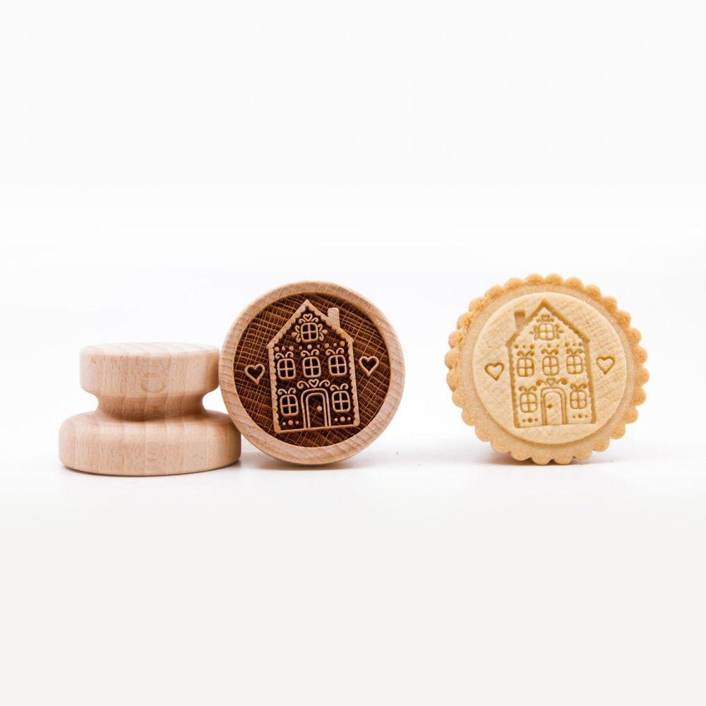 Razítko na sušenky - pohádkový dům