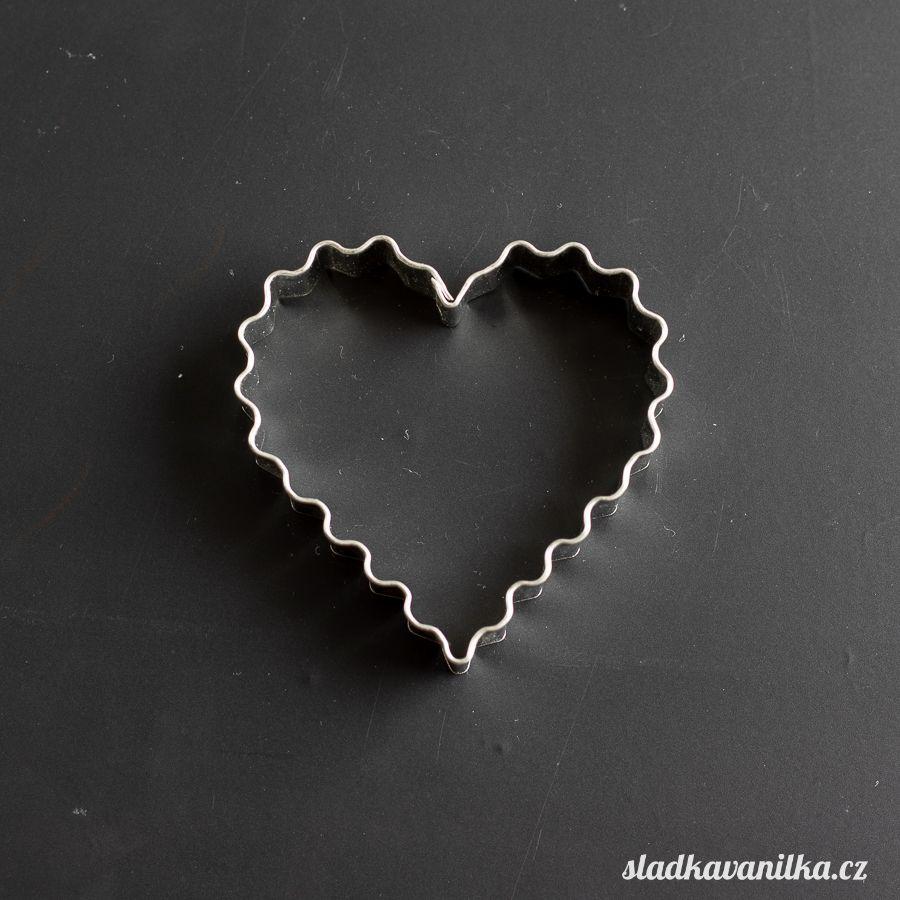 Vykrajovátko vroubkované srdce