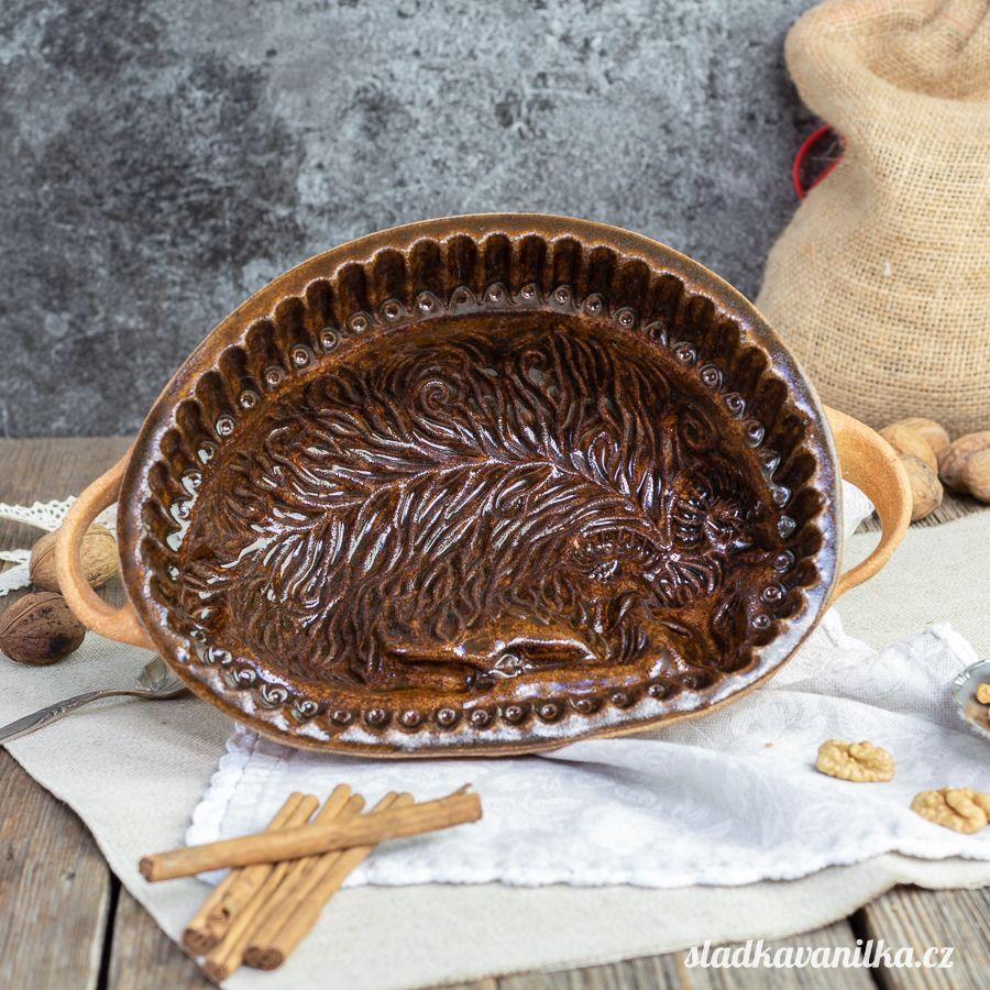 Malý beránek - keramická forma na pečení