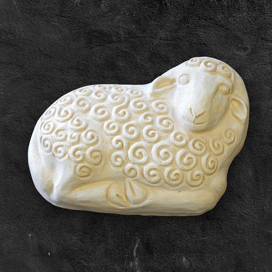Kudrnatý beránek - keramická forma na pečení