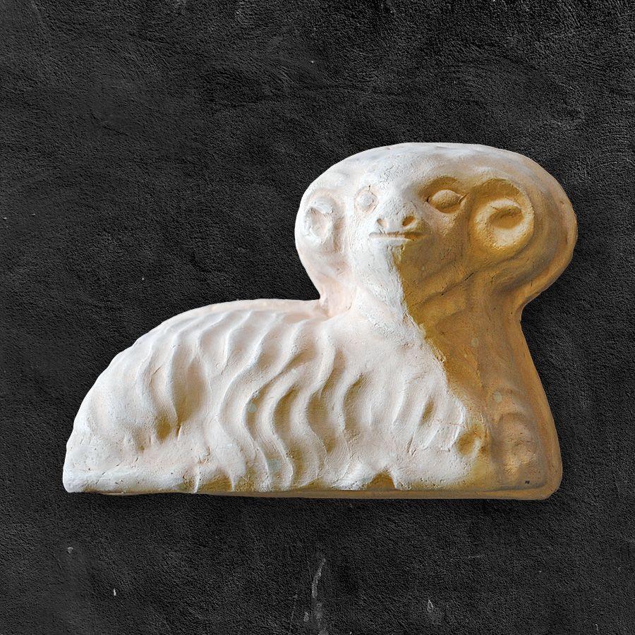 Klasický beránek - keramická forma na pečení