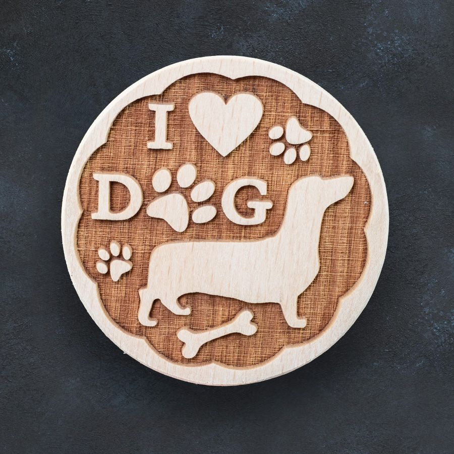 Razítko na sušenky - I love dogs