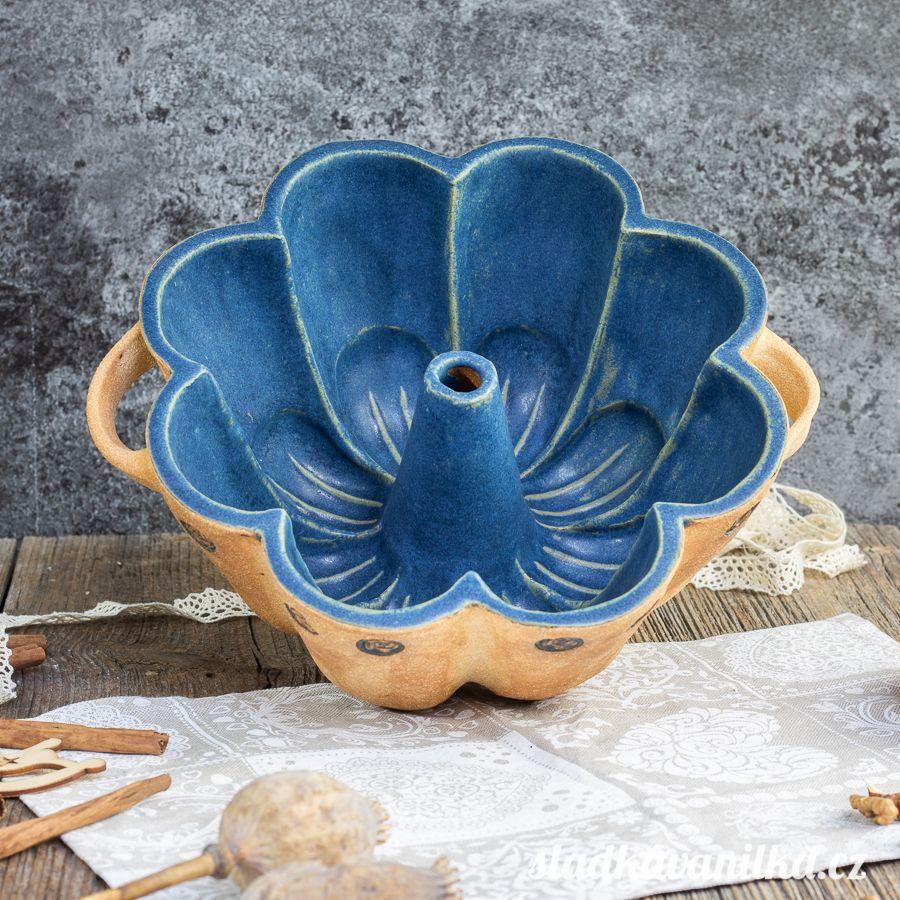 Bábovka květ - keramická forma na pečení