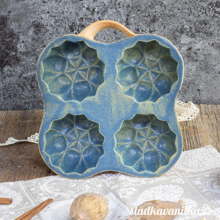 Belešník 4 hvězdičky - keramická forma na pečení