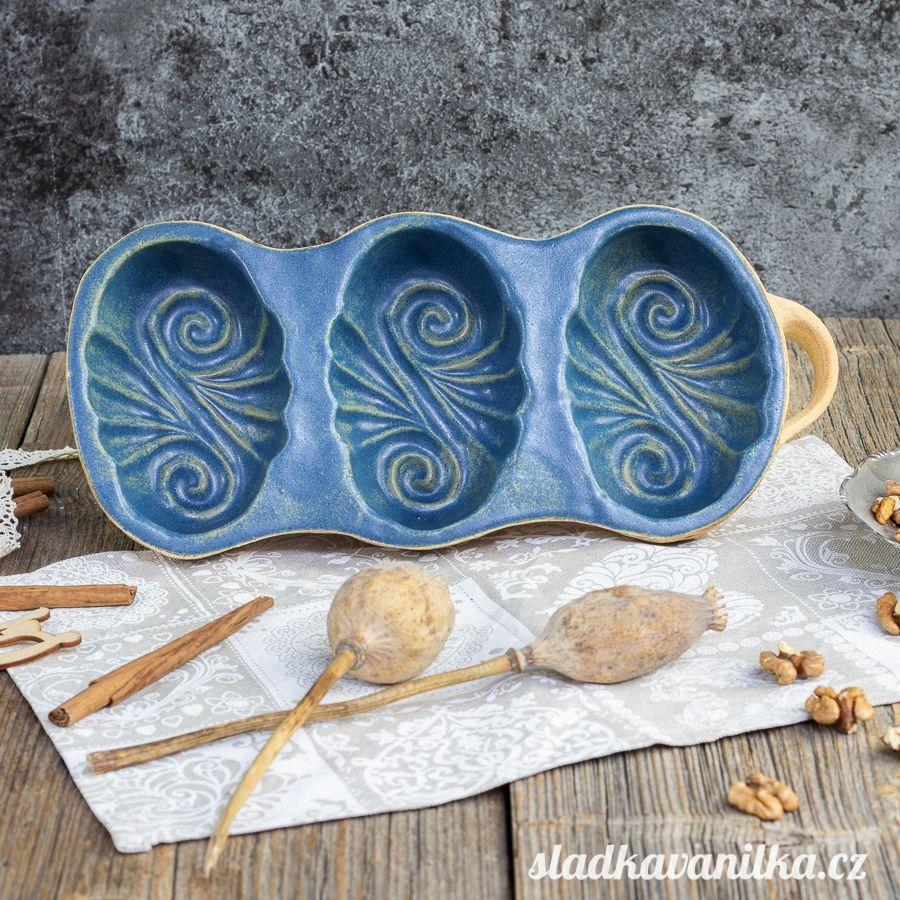 Belešník 3 spirálky - keramická forma na pečení
