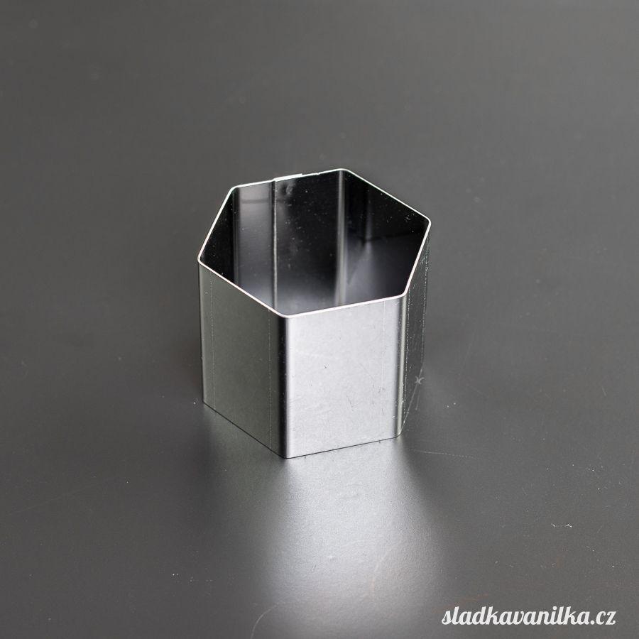 Semifredo formička na dortíky - šestiúhelník