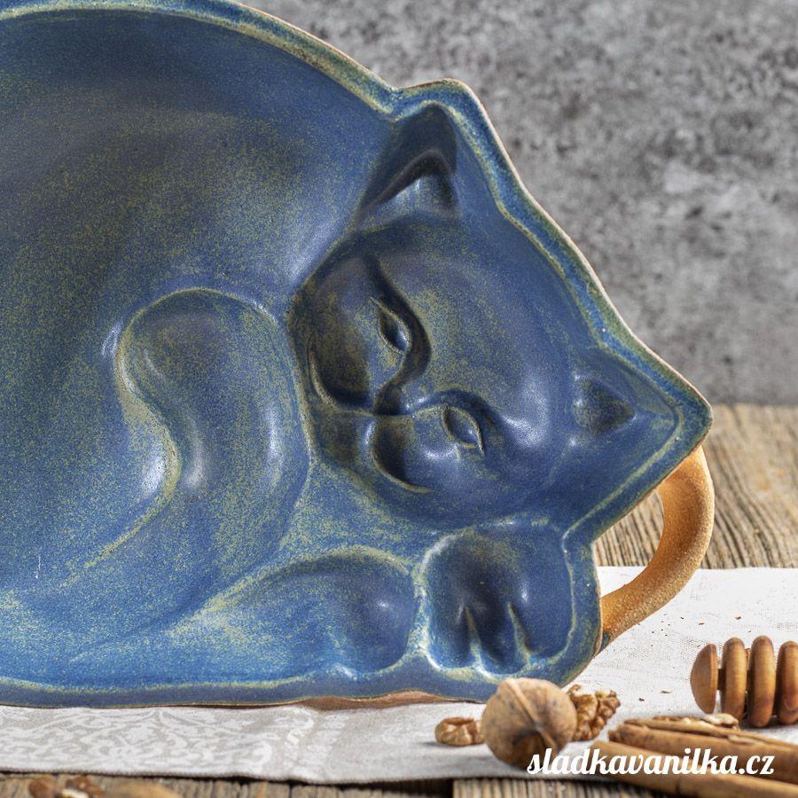 Kočka - keramická forma na pečení