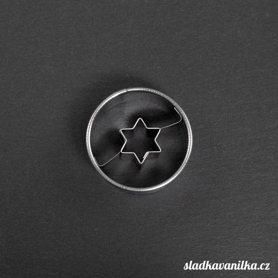 Vykrajovátko kolečko s hvězdičkou