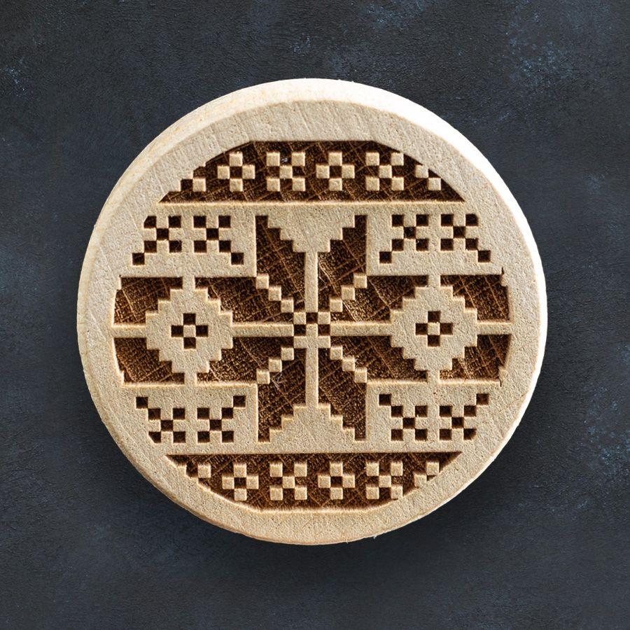 Razítko na sušenky - norský vzor