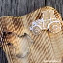 Vykrajovátko traktor