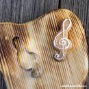 Vykrajovátko houslový klíč