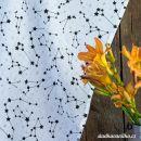 Mušelínová utěrka- souhvězdí