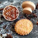 Razítko na sušenky - tři květy