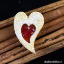 Vykrajovátko nepravidelné srdce se srdíčkem