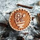 Razítko na sušenky - květiny ve váze