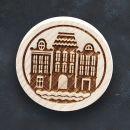 Razítko na sušenky - historické domy