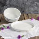Porcelánová máselnice - věneček